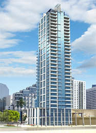 Sapphire Tower San Diego luxury condos for sale