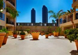 235 On Market Condos San Diego - 2nd Floor Courtyard