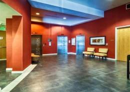 350 West Ash Condos San Diego - Lobby Elevetors Area
