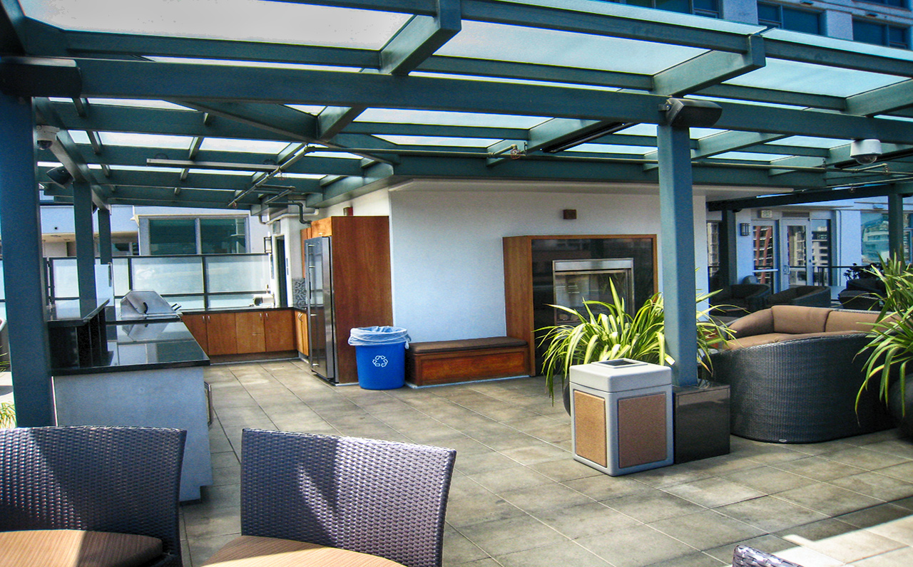 The Legend - 325 7th Ave #1901, San Diego, CA 92101 (Enjoy outdoor entertainment at the 7th floor's Ball Park view terrace)