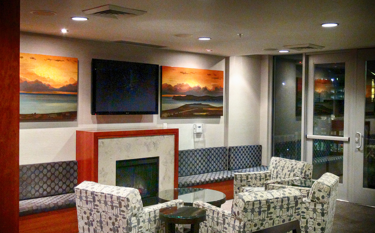 The Legend - 325 7th Ave #1901, San Diego, CA 92101 (or try the 7 floor's indoor entertainment areas if you prefer!)