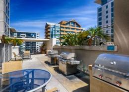 Acqua Vista Condos San Diego - BBQ Area