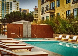 Aloft on Cortez Hill - Pool & Spa