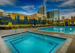 Bayside San Diego Pool & Spa Area