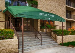 Beech Tower Condos - Entry