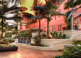 Breeza San Diego Condos - Courtyard