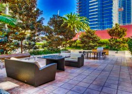 Breeza San Diego Condos - Courtyard BBQ Area