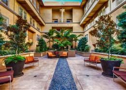 City Walk Condos San Diego - Courtyard Area