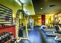 Crown Bay Condos San Diego - Fitness Center