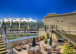 Crown Bay Condos San Diego - Roof Top Deck With BBQ Area
