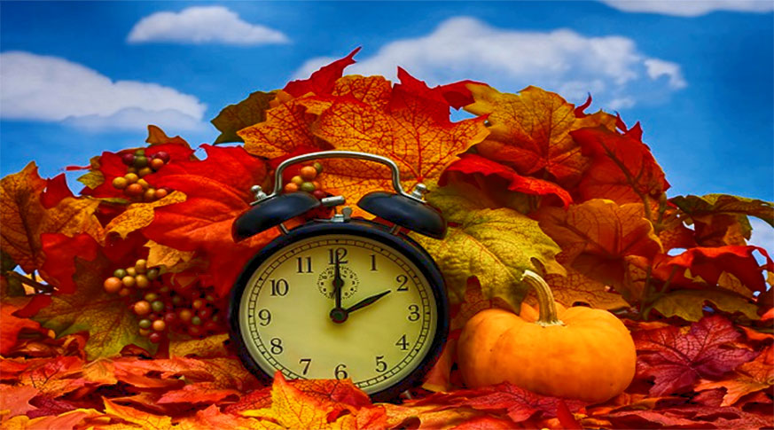 Don't Forget! Daylight Saving Time Ends November 2