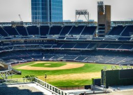 Diamond Terrace San Diego - Ballpark View From Community Rooftop Deck
