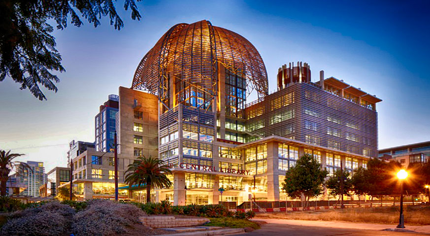 Downtown- San Diego - Central Library