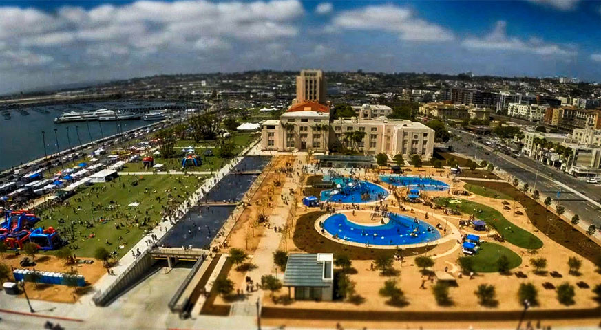Downtown San Diego - County Waterfront Park