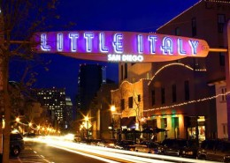 Downtown San Diego Little Italy District