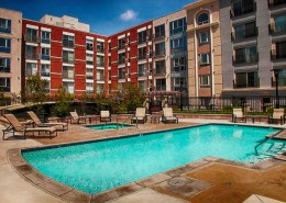 Gaslamp City Square Condos - Pool and Spa