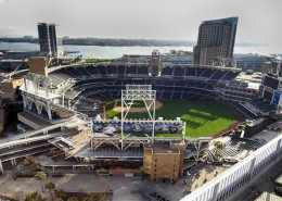 Icon San Diego Condos - View To Petco Park From Rooftop Area