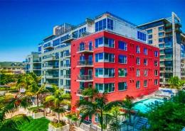 La Vita San Diego Condos - Courtyard