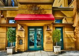 Laurel Bay Condos San Diego - Entry at 2400 5th Avenue, San Diego, CA 92101