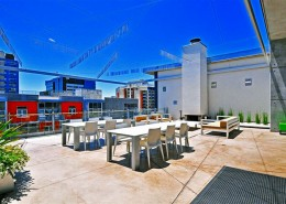 M2i Condos San Diego - Rooftop Deck for Entertainment