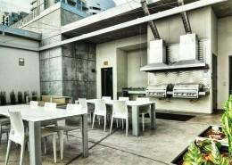 M2i Condos San Diego - Rooftop Deck BBQ Area