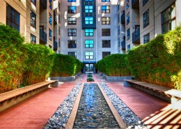 Metrome San Diego Condos - Zen Garden Entry