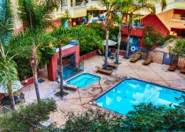 Palermo San Diego Condos - Pool & Spa Area
