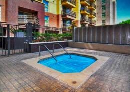 Park Blvd East Condos San Diego - Spa on 2nd Floor