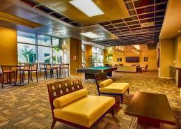 Park Terrace Condos San Diego - Community Rec & Game Room