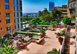 Park Terrace Condos San Diego - Terrace