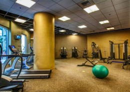 Park Terrace Condos San Diego - Fitness Center