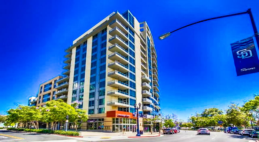 Park Terrace Condos in Downtown San Diego