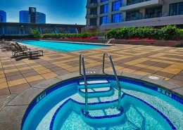 Pinnacle San Diego Condos - Pool, Spa Areas
