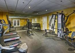 Porta d'Italia Condos San Diego - Gym