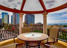 Porto Siena Condos San Diego - Rooftop Deck View