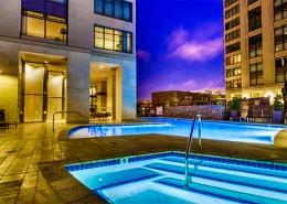 Renaissance Condos San Diego - Pool & Spa Area