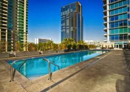 Sapphire Tower Condos San Diego - Pool