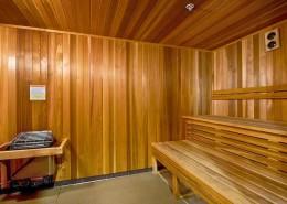 Sapphire Tower Condos San Diego - Sauna Room