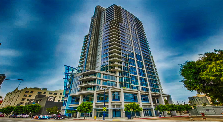 Sapphire Tower Condos in Downtown San Diego