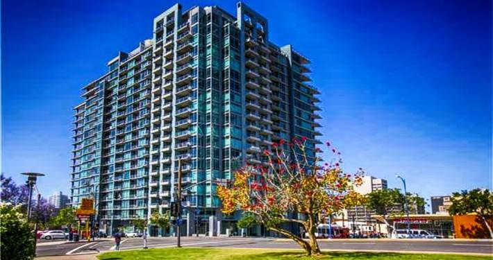 Smart Corner Condos at 1080 Park Boulevard, San Diego, CA 92101