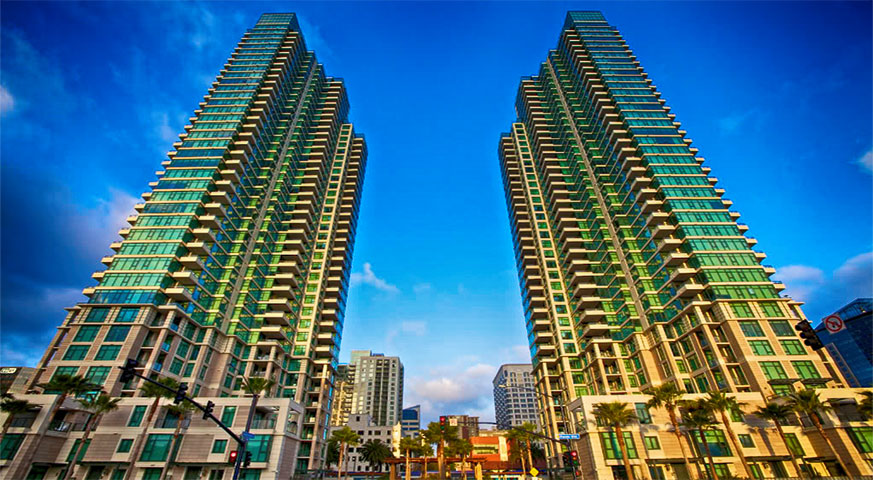 The Grande Condos in Downtown San Diego