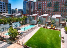 The Mark San Diego Condos - Outdoor Area Amenities