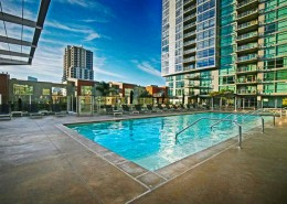 The Mark San Diego Condos - Pool Area