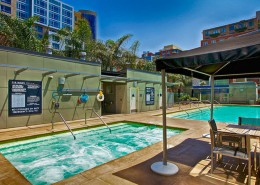 The Mark San Diego Condos - Pool & Spa Area