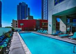 Treo Condos San Diego - Heated Pool